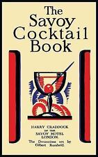 The Savoy Cocktail Book by Harry Craddock (2015, Hardcover)