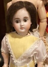 """Antique 14"""" German Bisque Factory Sonneberg Solid Dome So Called Belton Doll"""