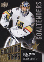 18-19 Upper Deck Marc-Andre Fleury BLACK Shooting Stars Golden Knights 2018