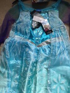 Disney George Frozen Elsa Costume - Age 9-10 years BNWT