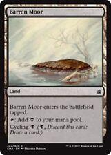 BARREN MOOR Commander Anthology MTG Land Com