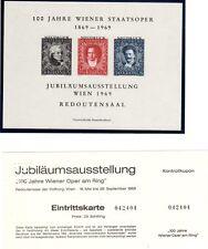 Ein Offizieller Neudruck zur IFA 1968 mit Eintrittskarte