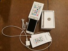 iPHONE 5s - 5 s - 16GB SILVER UNLOCKED / AT&T 4G DUAL-CORE 8MP CAMERA SMARTPHONE