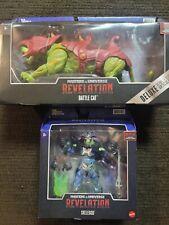 MASTERS OF THE UNIVERSE REVELATION: Battle Cat and Skeletor he-man netflix