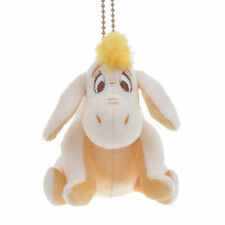 Eeyore Plush Keychain Gold White Pooh Disney Store Japan