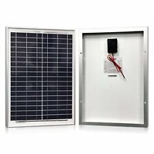 Solar Panel 20 Watt Powereco Polycrystalline 20W Solar Charger for 12V Batter...