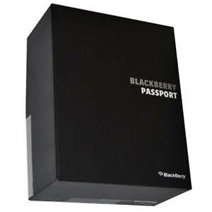 New BlackBerry Passport 32GB Black SQW100-1 QWERTZ Factory Unlocked 4G/LTE GSM