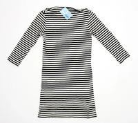 Topshop Womens Size 10 Striped Cotton Blend Multi-Coloured Top (Regular)