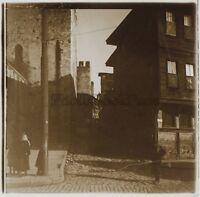 Costantinopoli Turchia Foto C6 Placca Da Lente Stereo Vintage 1926