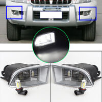Pair LED Front Fog Light For Toyota Land Cruiser Prado120 SERIES 2002-2009 RH+LH