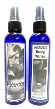 COMBO - Woods & Fiercer Combo Versions of (A&F Mens Cologne) 4 ounce Body Sprays