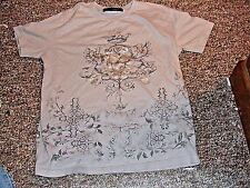 RG512 BRAND T-SHIRT KIDS SIZE 16 SOFT GRAY  COTTON ON THE FRONT