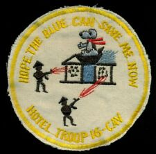 US Army Hotel Troop 16th Cavalry Snoopy Vietnam Patch S-2