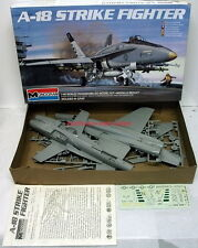 Monogram 5807~A-18 Strike Fighter~1/48~Plastic Model Airplane Kit~1983~Marines