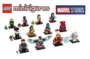 LEGO MARVEL Collectible Minifigures 71031 - Complete Set of 12  🔥 SEALED 🔥