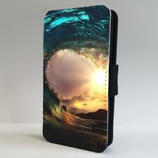 Sunset Amazing Surfing Wave Ocean FLIP PHONE CASE COVER for IPHONE SAMSUNG