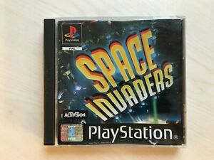Space Invaders PS1 Game UK PAL USED