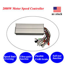 2000w Dc Brushless Motor Controller 4872v E Bike Scooter Electric Bicycle Us
