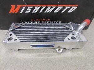 NEW 07-11 KTM 450/505 SX-F XC-F MISHIMOTO X-BRACED ALUMINUM LEFT LH RADIATOR