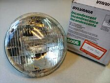 NEW PORSCHE 356 356A 356B 356C 356SC SEALED BEAM HEADLIGHT SYLVANIA 6006 6 VOLT
