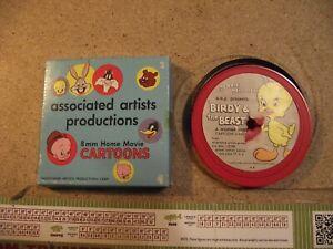 BIRDY & THE BEAST 8 mm Home Movie Cartoons  8MM Associated Artist Productions
