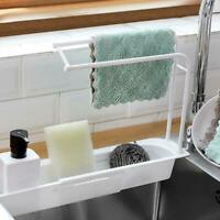 Telescopic Sink Racks Holder Storage Drain Baskets Expandable For Kitchen Tools