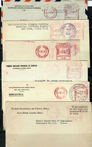 Costa Rica Metered Covers 1940s