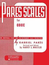Pares Scales For Oboe by Whistler, Harvey S.