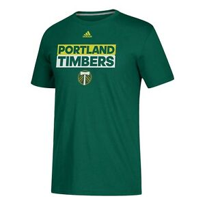 Portland Timbers adidas MLS The Go To Performance Green Tee Adult XL T-Shirt