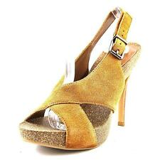 Suede Slingbacks Solid Sandals for Women