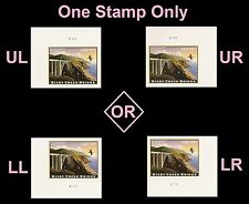 US 4439 Express Mail Bixby Creek Bridge $18.30 plate single MNH 2010