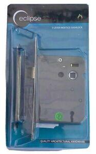 "ECLIPSE 75mm (3"") 3 LEVER SASHLOCK SASH LOCK NICKEL PLATED / CHROME Code J73013"
