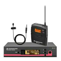 Sennheiser SET EW 100 G3 w/ Clip on Microphone - Wireless Set Freq: G 566-608