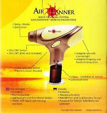 Air Pro tanner TANNING KIT gives a sun less glow home self fake false SPRAY TAN