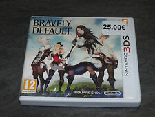 JEU 3DS BRAVELY DEFAULT COMPLET SQUARE ENIX OCCASION