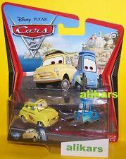 LUIGI & GUIDO RACE TEAM - Mattel Disney Cars 1:55 Radiator Springs Metal Diecast