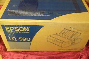 Epson LQ-590 Monochrome Printer NEW /Boxed !!(G1)