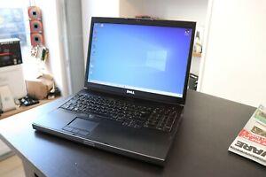 """Dell Precision M6500 17""""/ I7 820QM / ATI FirePro M7740 /10GO de RAM / SSD 240 Go"""