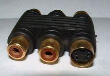 Cables y adaptadores acopladores de audio para TV y Home Audio