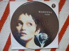 "Madonna Rain 12"" Picture Disc Vinyl UK 1993 Sire / Maverick 3 Track Single EXC"