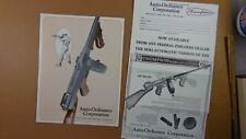 1970'S TOMMY GUN THOMPSON BROCHURE! MODELS 1927A-1 - AUTO-ORDNANCE