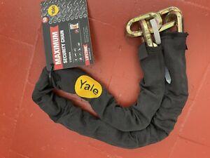 YCL3/10/110/1ch- Maximum Security Chain Bike Lock 1100mm- Heavy Duty