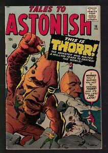Marvel Comics Tales to Astonish 16 THORR !! 1961 VFN- 7.0 Horror high grade