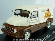 FIAT 615 Ferrero 1952 Model Van 1/43rd Scale Commercial Issue BXD K8967q #