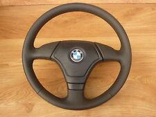 Lederlenkrad BMW E31 E34 E36 E39 Z3 Lenkrad mit Airbag     LEDER GLATTES
