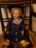 Antique Rear Kestner baby doll 211 with straight legs