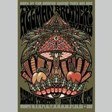 2011 The Allman Brothers Band Beacon Theatre Nyc Poster