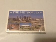 Dallas Fort Worth Playing Cards Deck Texas Metroplex City Skylines Ball Parks