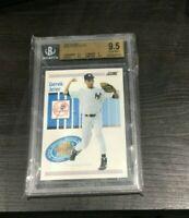 1993 Score #489 Derek Jeter ROOKIE Graded Baseball Card BGS 9.5 GEM MINT 3 X 9.5