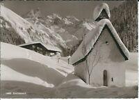 Ansichtskarte Einödsbach Mädelegabelgruppe b. Oberstdorf/Allgäu Schneelandschaft